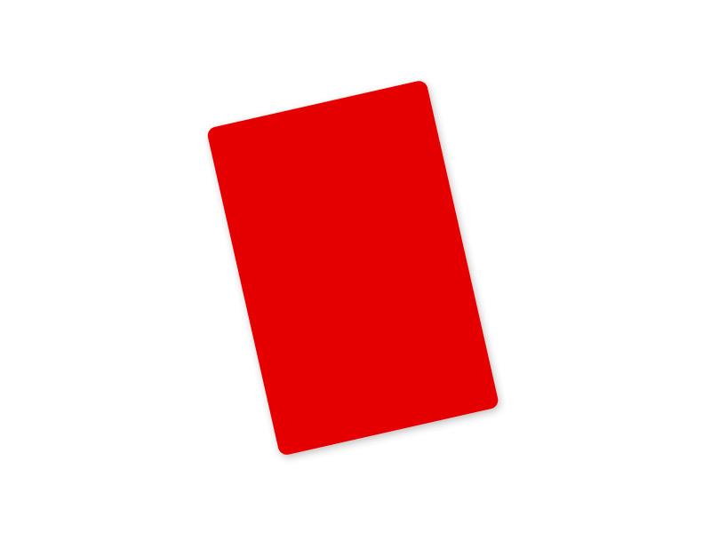 meiste rote karten