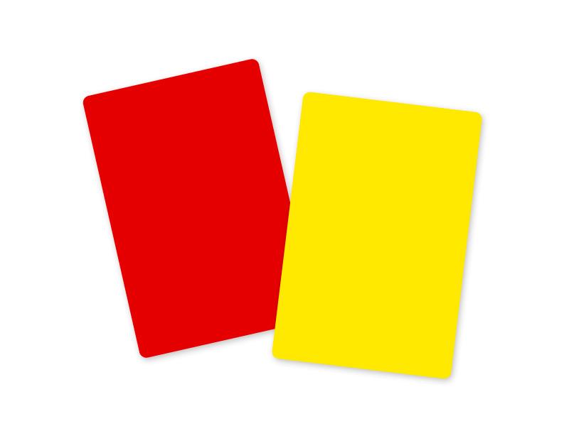 Gelbe Und Rote Karte